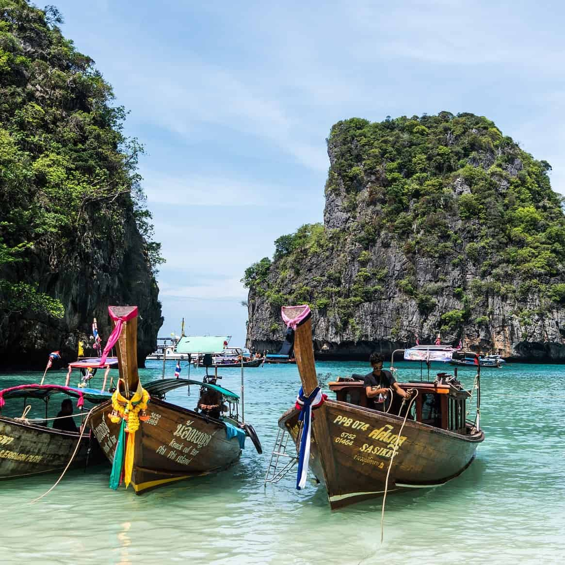 Thailand for the first time