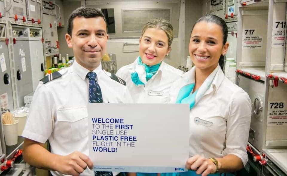 Hi Fly first plastic free flight