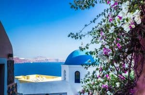 cheap flights to santorini