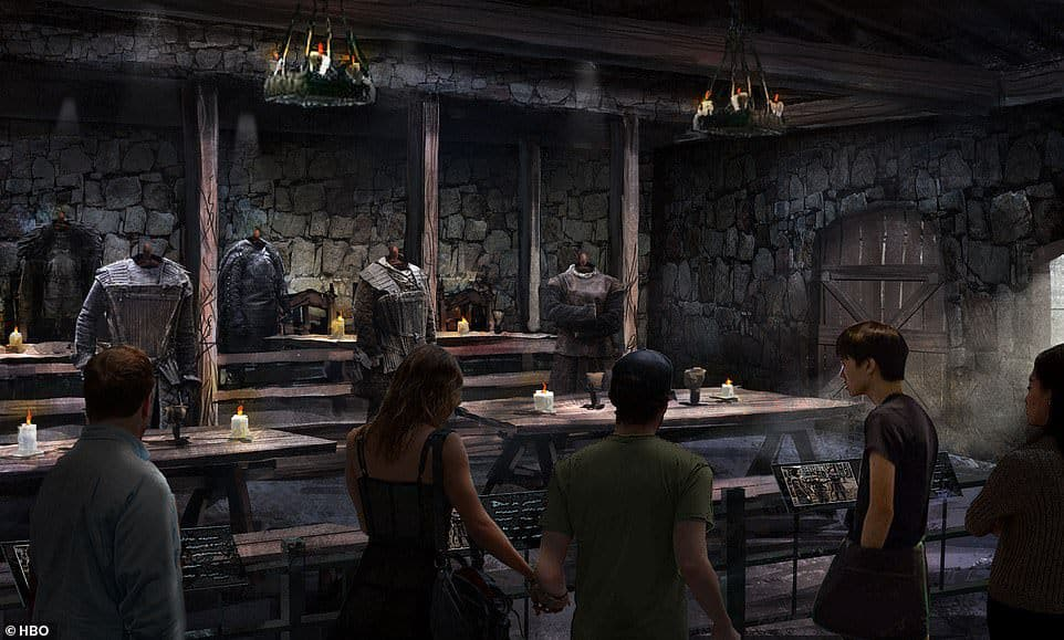 game of thrones studio tour dragonstone