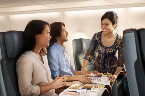 singapore airlines economy class