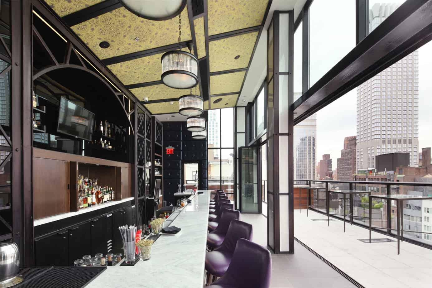 spyglass rooftop bar new york