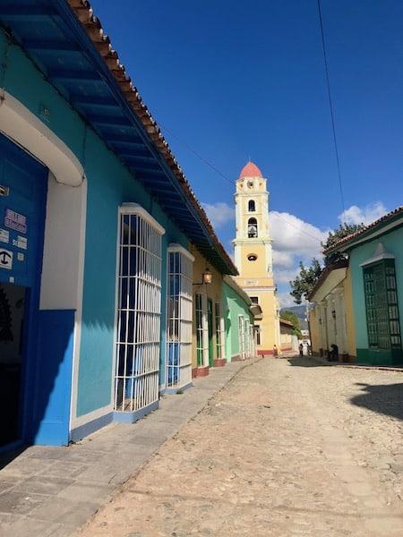 Centro historico Trinidad Cuba