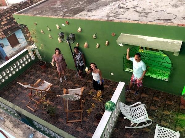 hosts in Trinidad Cuba