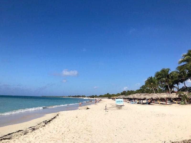 Ancon beach Cuba