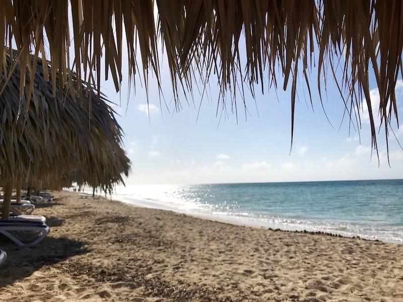 Ancon beach in trinidad cuba