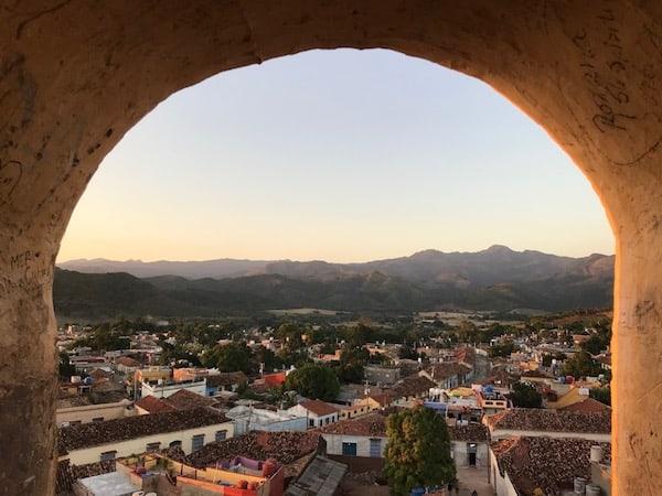 Belfry in Trinidad Cuba
