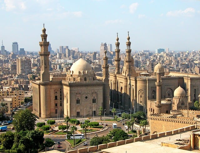 Mosque in Cairo Egypt