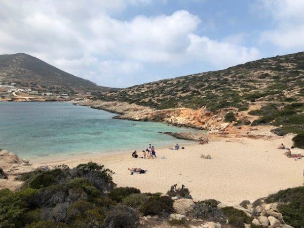 Kalotaritissa donousa Grecia