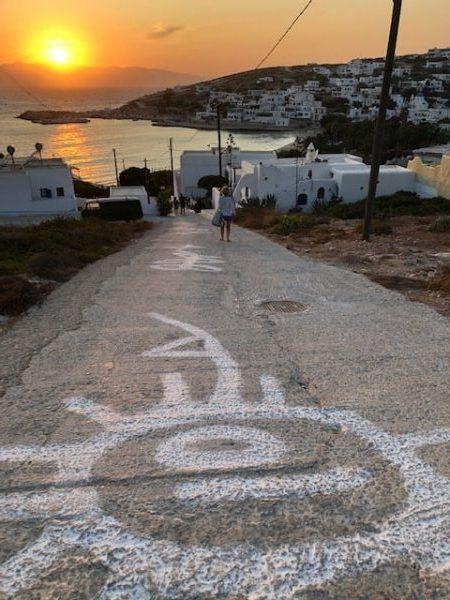 Susnet en Donousa Grecia