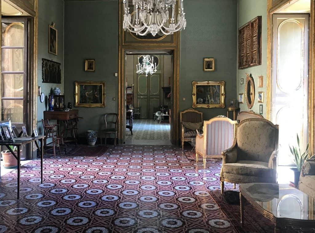 Palacio Conte Federico en Palermo Italia