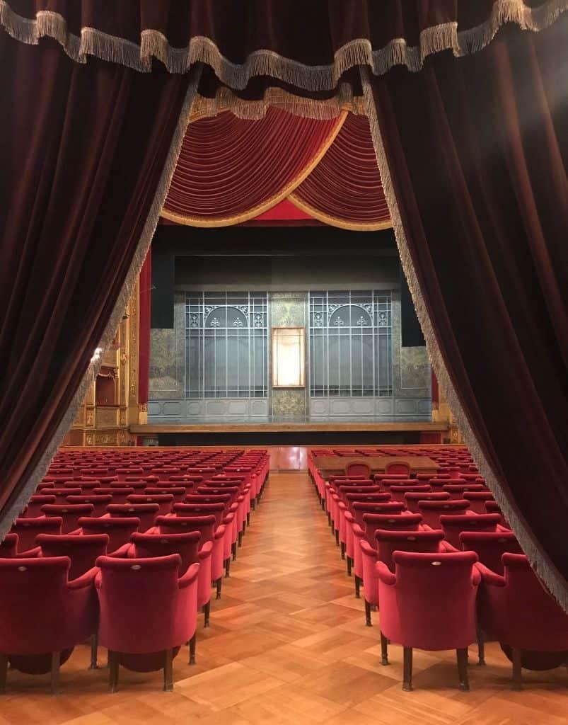 Teatro Massimo en Palermo Sicilia Italia