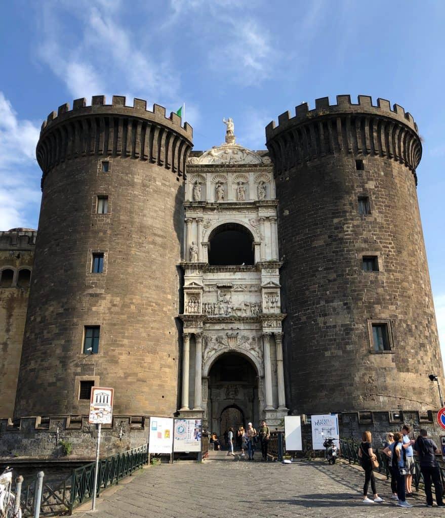 Castle Nuevo in Naples Italy