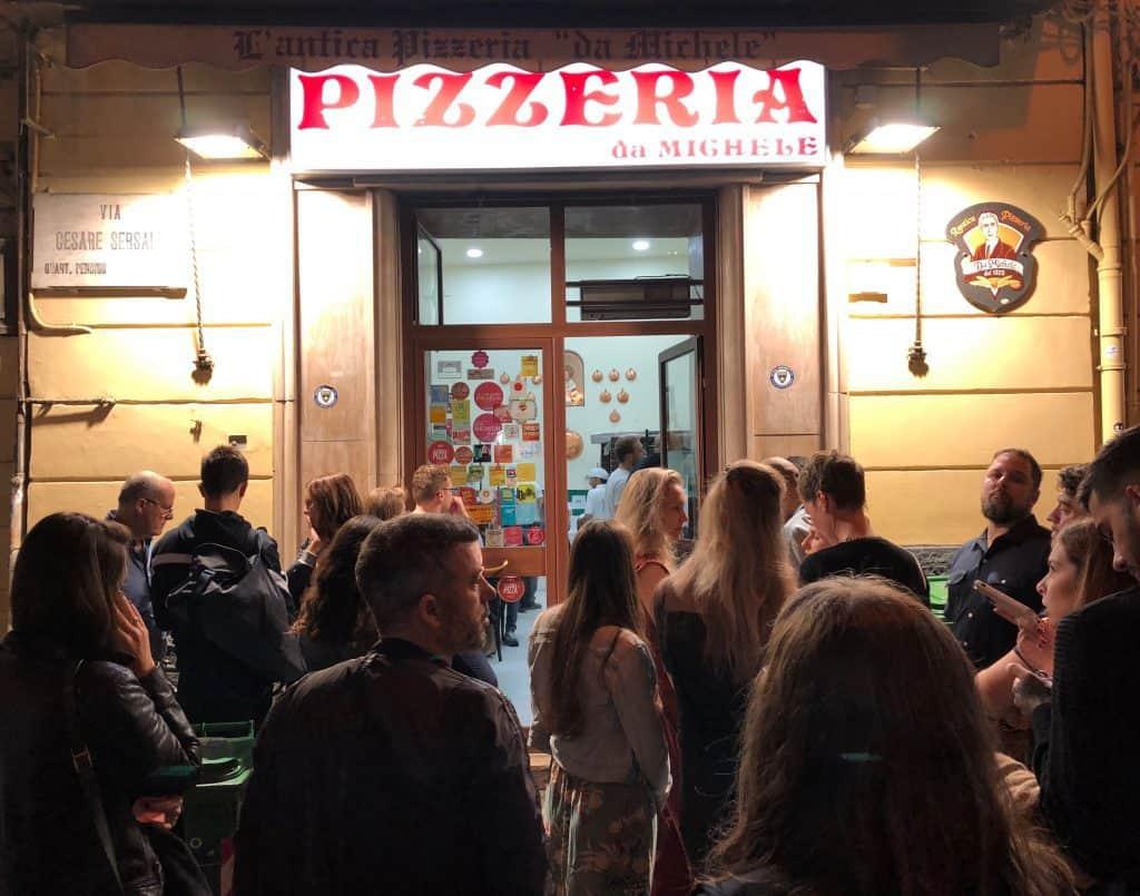 Pizzeria Michele in Naples Italy