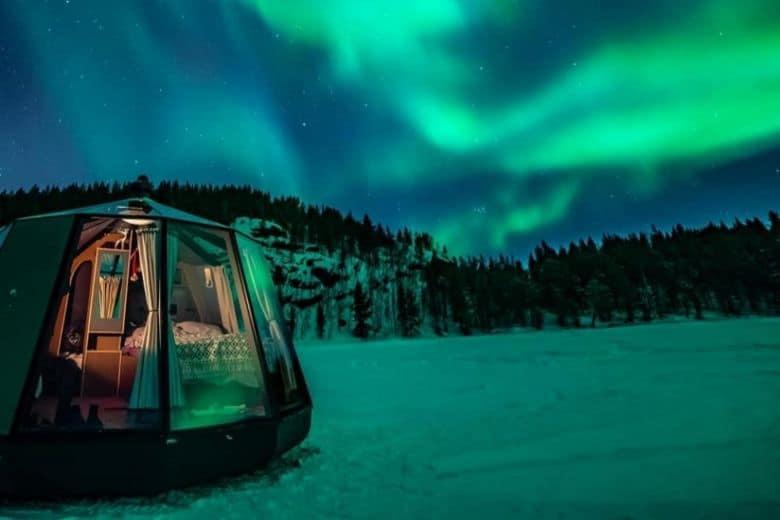 north pole igloo hotel
