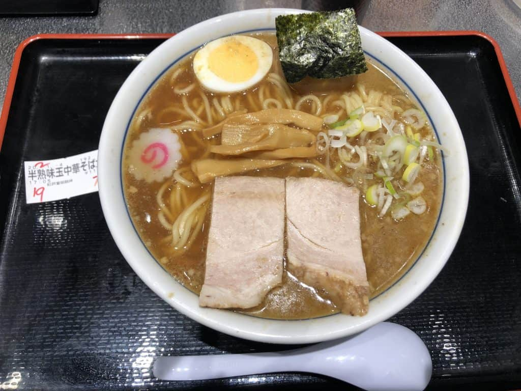 Ramen en Osamu Tomita en Tokio