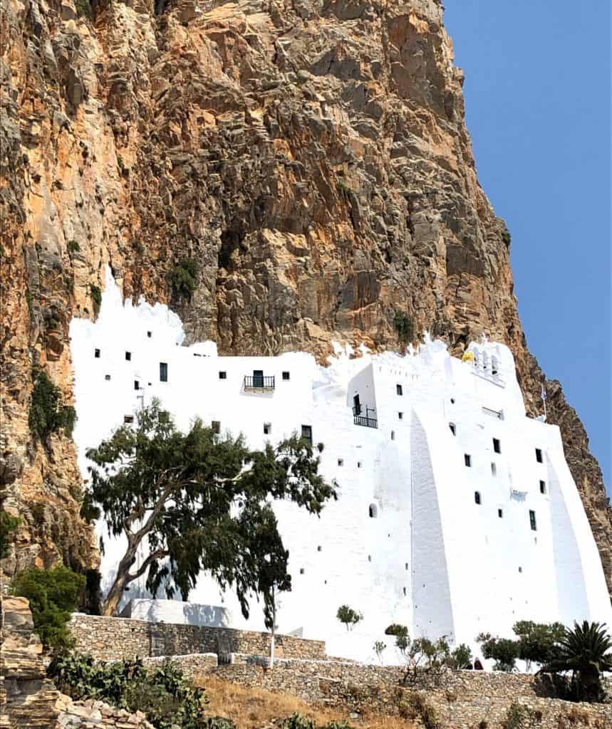 Monastery panagia hozoviotissa amorgos