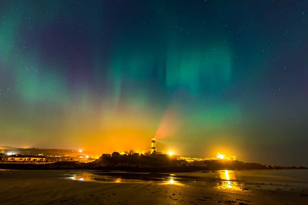 northern lights by michael gill