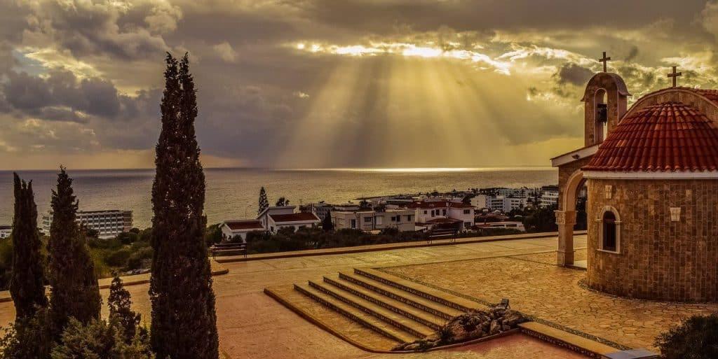 Ayia Napa monastery in Cyprus