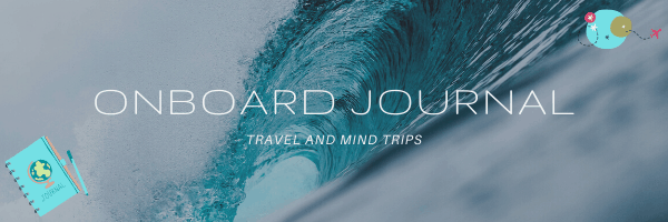 travel journal sea wave