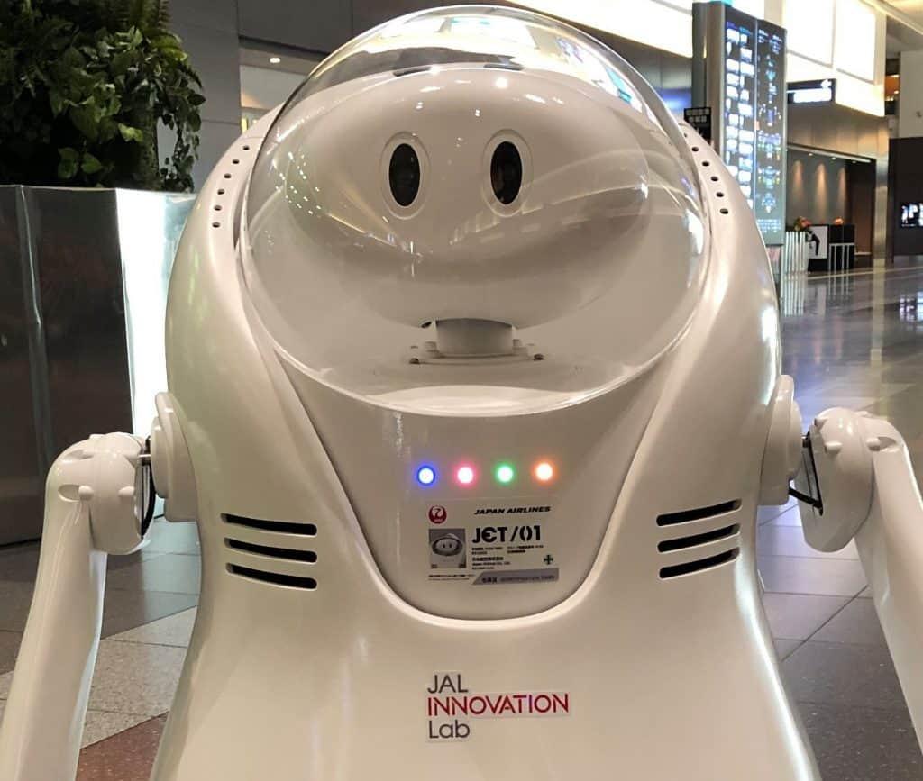 Robot JET Japan Airlines