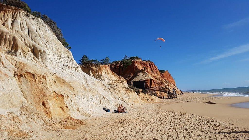 Beach in Algarve Portugal