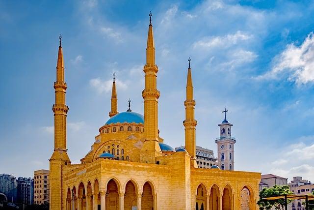 Mosque Beirut Lebanon