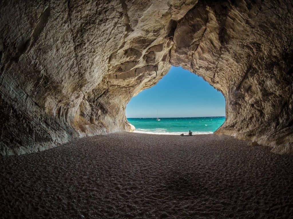 Cala Gonone in Sardinia Italy