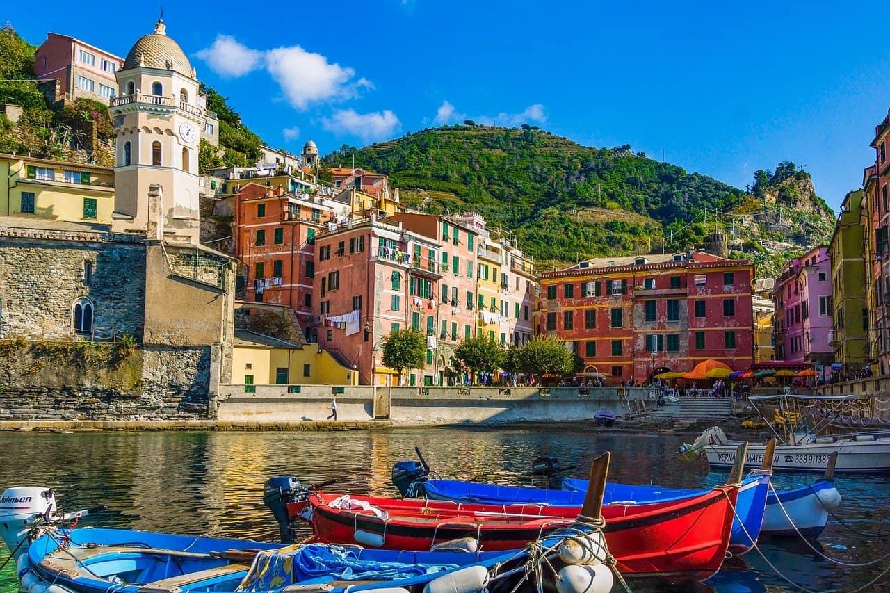 Cinque Terre en Italia