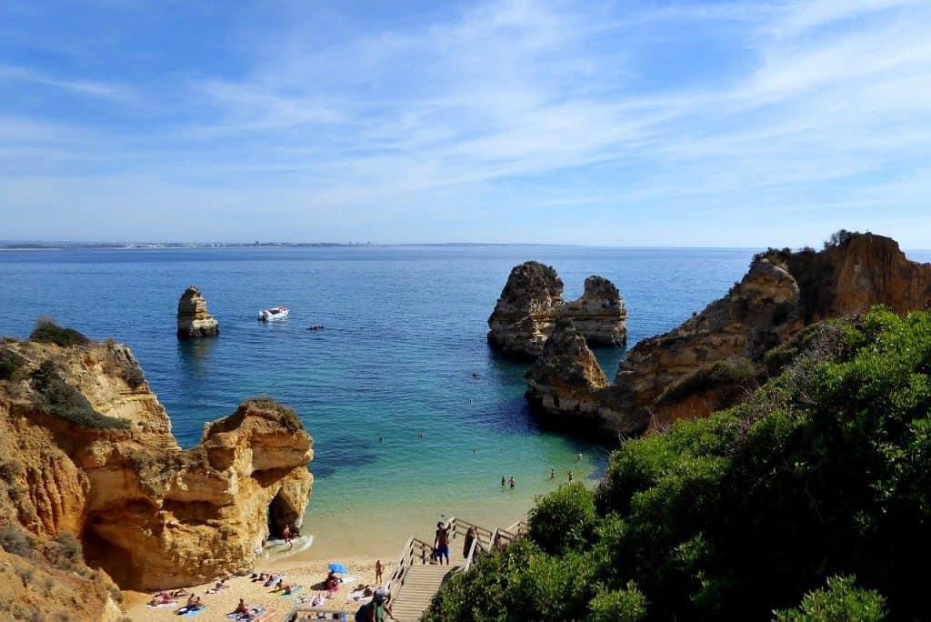 Playa de Lagos Algarve Portugal