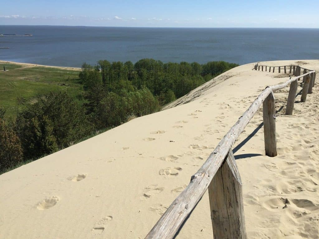 Nida beach Lithuania