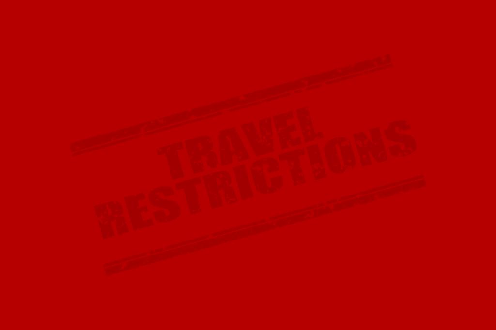 travel restrictions illustration